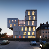Exterior render / рендер экстерьера по фотографии. 3XN Architects