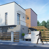 Visualization of a private house in Lviv region