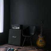 Мечта рок-музыканта(сделано по референсу)