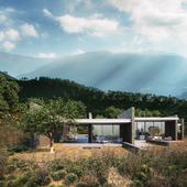 Wild Lilac House (сделано по референсу)