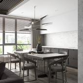 Living room _Kitchen