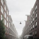 "Amsterdam ""SIMONSZ Residential Building"" (сделано по референсу)"