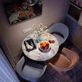 Визуализация кухни в студийной квартире