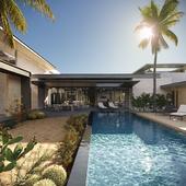 The villa on Aruba