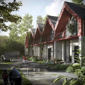 CGI: Residential building in Norway