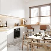 Design Visualization kitchen