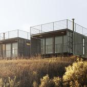Cambará Container House (сделано по референсу)