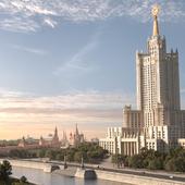 Высотное административное здание в Зарядье