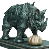 Rhinoceros Habille En Dentelles, 1956