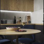 Стильный и функциональный дизайн квартиры-студии