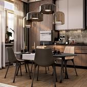Гухня-гостиная в ЖК Лайф