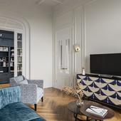 Neoclassical interior