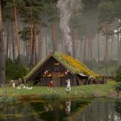 Домик викингов