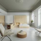 Дизайн апартаментов в центре Львова
