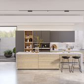 """ALEA"" kitchen for INSTYLE company"