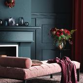 Dark living room(сделано по референсу)