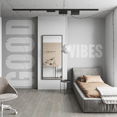 Stonegrey bedroom (сделано по референсу)
