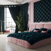 Спальня в Париже