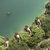 Boat Rooms on the Fuchun River (сделано по референсу)