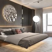 Проект интерьеров квартиры в г. Нальчик (ЖК EsferaCity)