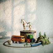 Натюрморт с игрушками