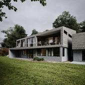 DARK GREEN | Engelsvoll house