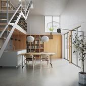 Интерьер частного дома (сделано по референсу)