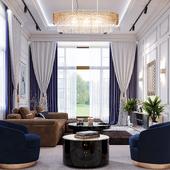 Luxury living design Interior