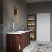 Визуализация ванной комнаты 3Dsmax, Corona, Photoshop