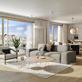 Дизайн интерьера и визуализация квартир!