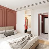 Спальня, современная классика.