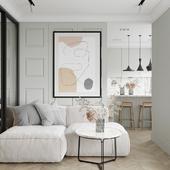 Grey flat