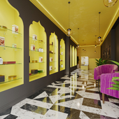 Проект магазина арабских сладостей.