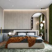 GREENERY APARTMENT/ BEDROOM