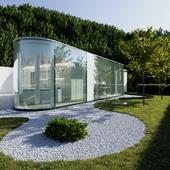 Lake Lugano House (выполнено по референсу)