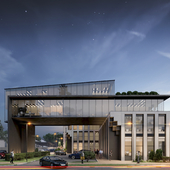 Business center in Almaty