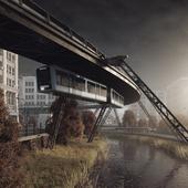 Urban exterior \ Sky train