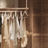 M A S A R lingerie showroom in Moscow