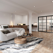 Master bedroom Praram 3 apartment