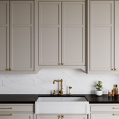 Neoclassic kitchen