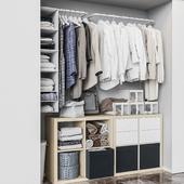 Ikea икеа Встроенный гардероб
