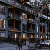Визуализация жилого комплекса для застройщика. Ванкувер Канада|Residential community in North Vancouver.