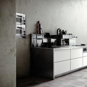 Стальные кухни