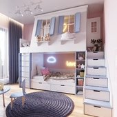 Детская в квартире № 20 в Киеве