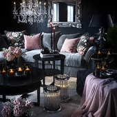 Романтическая гостиная (сделано по референсу)