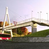 Pedestrian Bridge in Chuguiv