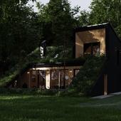 Дом в Подмосковье (сделано по референсу)