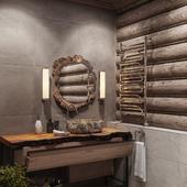 Санузел в деревянном доме