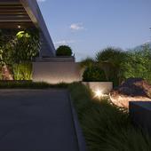Penthouse balcony design