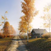 Country house in Russia